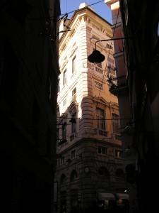 esterno da via Di Fossatello