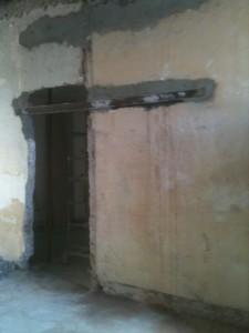 rinforzi e nuove murature