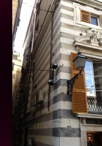 facciate di Palazzo Ravaschieri De Ferrari restaurate da Impresa Di Martino sas Genova