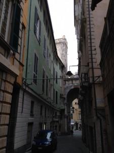 facciata su Via Del Campo
