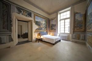 affreschi del 600 e modernissimi pavimenti in resina