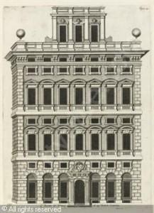 Palazzo Centurione disegno di P. Rubens